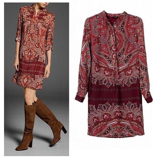 Kleid lang anthrazit