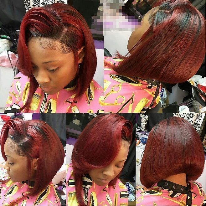 Goals  #customcolor #redhead #bobhair #virginhairextensions #ombre #bobhaircut #red #redhair #burgundy #sidepart #shorthair #edges #everything #goals #hairforblackwomen #hairstyle #hairslayed #instagood #hairinstall #nice #goodnight #gorgeous #naturalhair #topshop #beautiful Coco Black Hair provide the most natural looking hair and wigs Change yourself today!