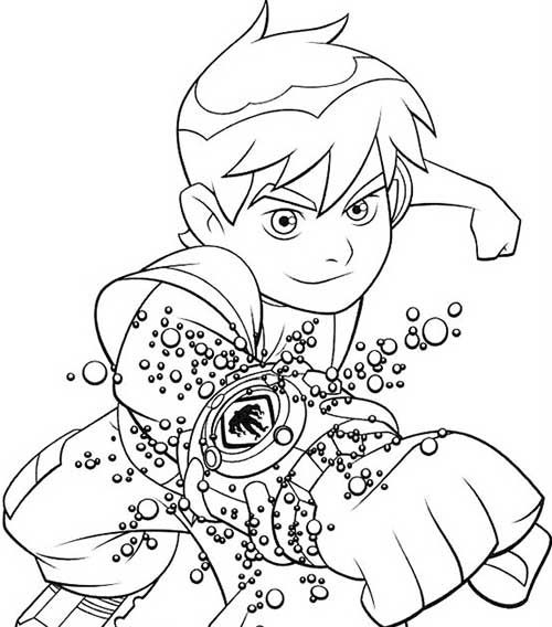 30 Desenhos do Ben Dez para Pintar Grátis!