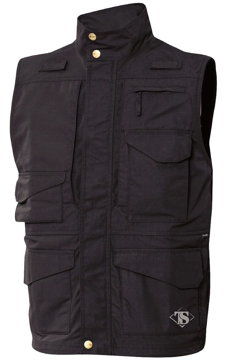 Tru-Spec 24-7 Series Tactical Vest - Men's Teflon 12-Pocket All-Weather Vests