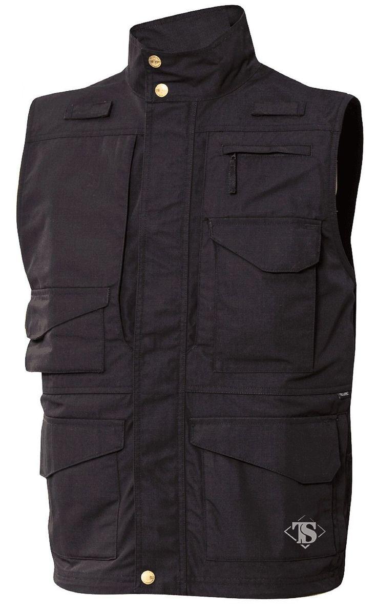 Tru-Spec 24-7 Series Tactical Vest - Men's Teflon 12-Pocket All-Weather Vests