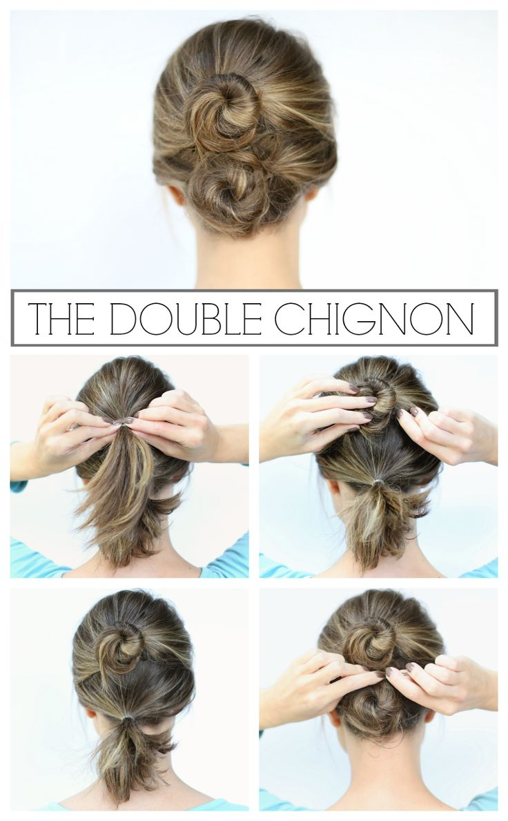 Penny Pincher Fashion: The Double Chignon