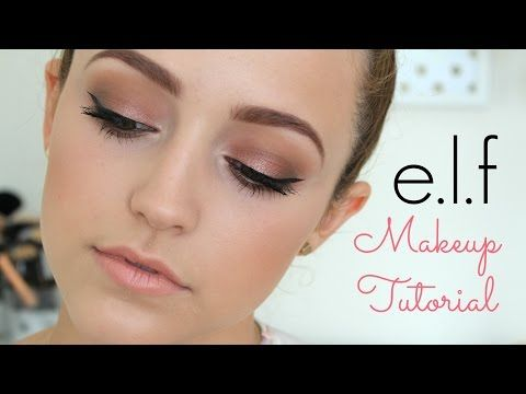 One Brand Tutorial- E.L.F - YouTube great classic look!