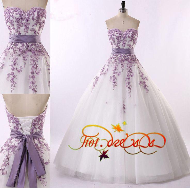 Best 20 Purple Wedding Dresses Ideas On Pinterest