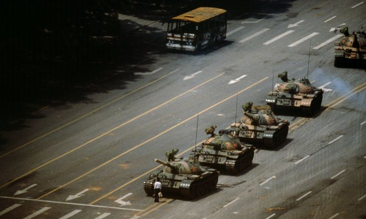 The Magnum photographer tells his story of the 1989 protests, from peaceful demonstration to bloody crackdown, the iconic 'tank man' – and how hamburgers gave him his big break