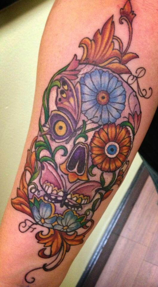 1000 images about flower butterfly skull tattoo on pinterest beautiful tattoos candy skull. Black Bedroom Furniture Sets. Home Design Ideas