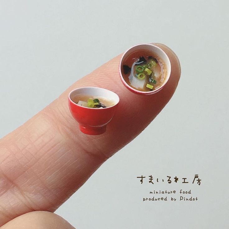 2017, Miniature food ♡ ♡  by Smile Pindot