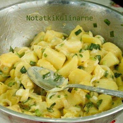 Cytrynowa sałatka ziemniaczana