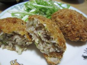 Easy!  Cutlet plenty of onions and cabbage