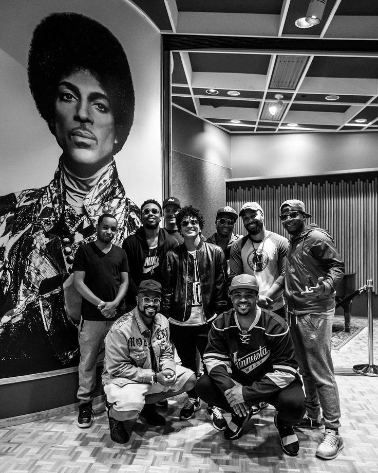 Bruno Mars and the Hooligans at Paisley Park