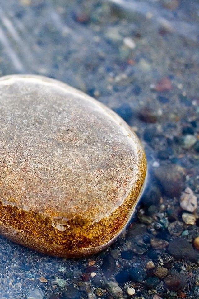 Zachtheid en geduld zijn kwaliteiten: het zachte water vormt de harde rots.