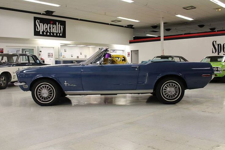 1968 Ford Mustang Convertible for sale #1780805 | Hemmings Motor News