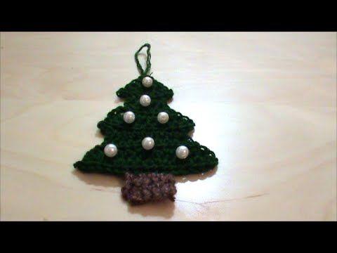 Πλεκτό Χριστουγεννιάτικο δεντράκι - YouTube