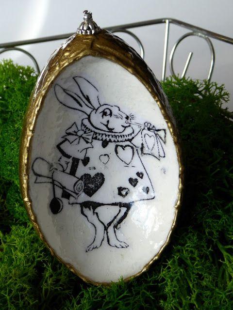 SwiatDecoupage.pl: królik wklęsła gęsina