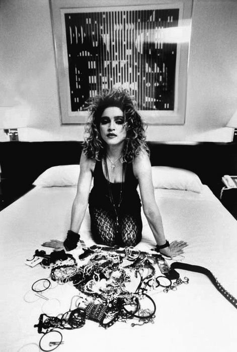 Missing this madonna look.