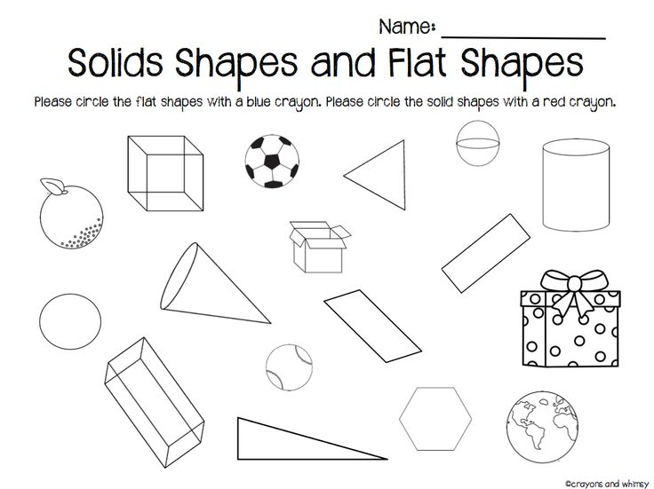 11 best comparing 2d and 3d shapes images on Pinterest