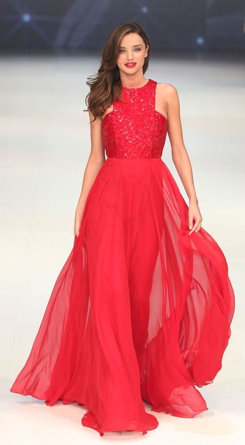 24b5c4159cf Alex Perry Miranda Kerr red dress for David Jones