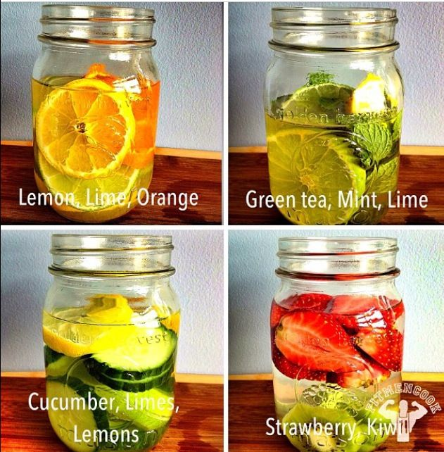 Different Detox waters