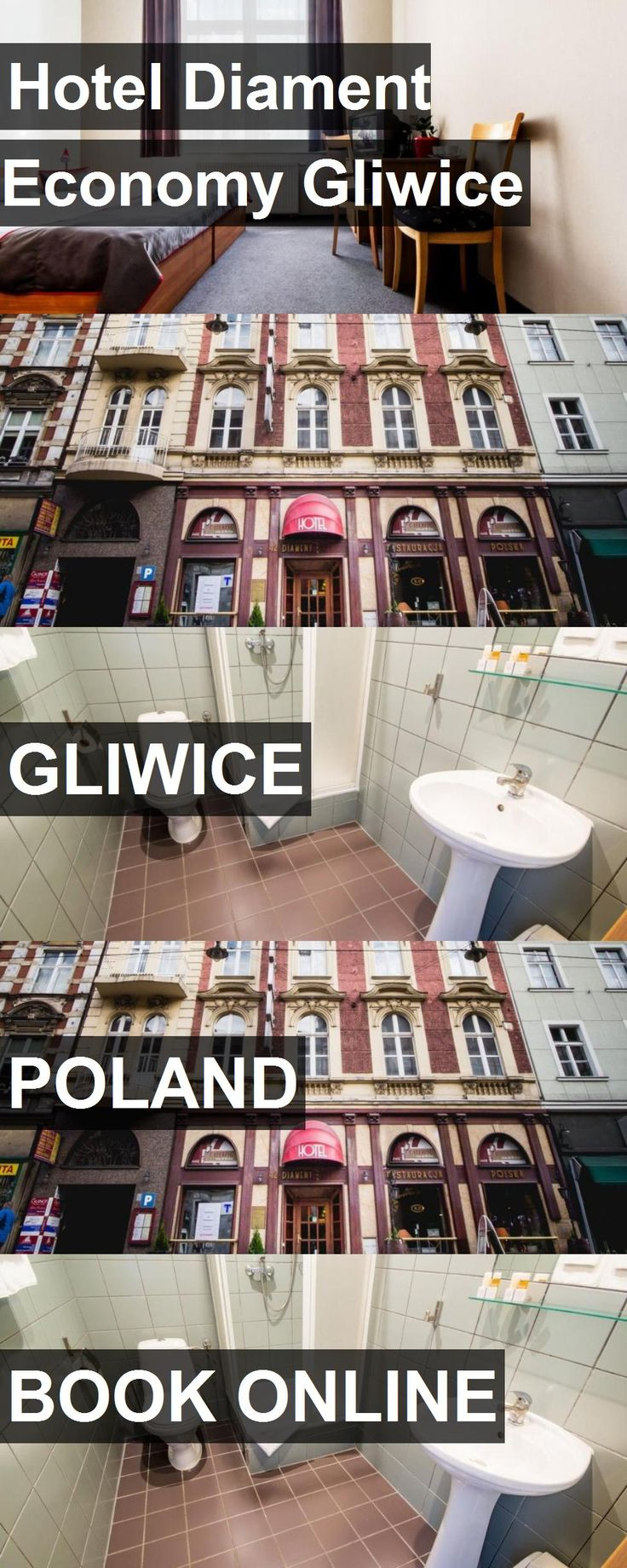 Hotel Hotel Diament Economy Gliwice in Gliwice, Poland. For more information, photos, reviews and best prices please follow the link. #Poland #Gliwice #HotelDiamentEconomyGliwice #hotel #travel #vacation