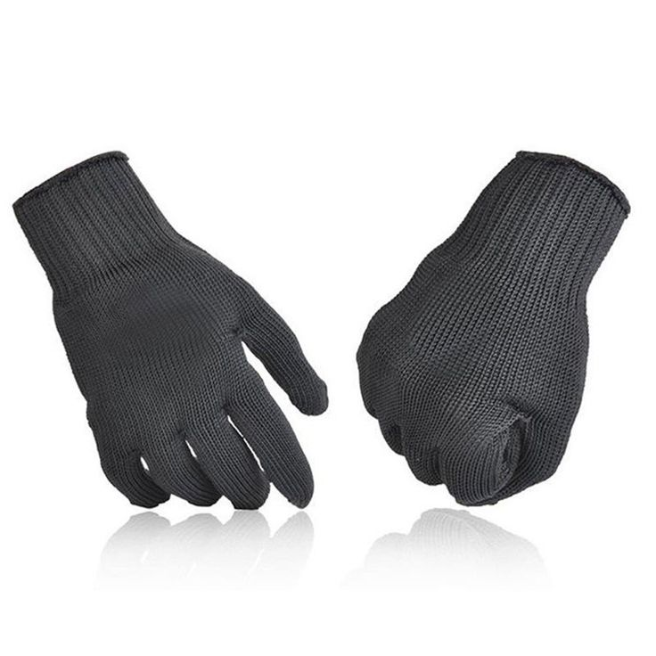 Kevlar Gloves - Stainless Steel Mesh Butcher Anti-cutting Breathable Work Gloves
