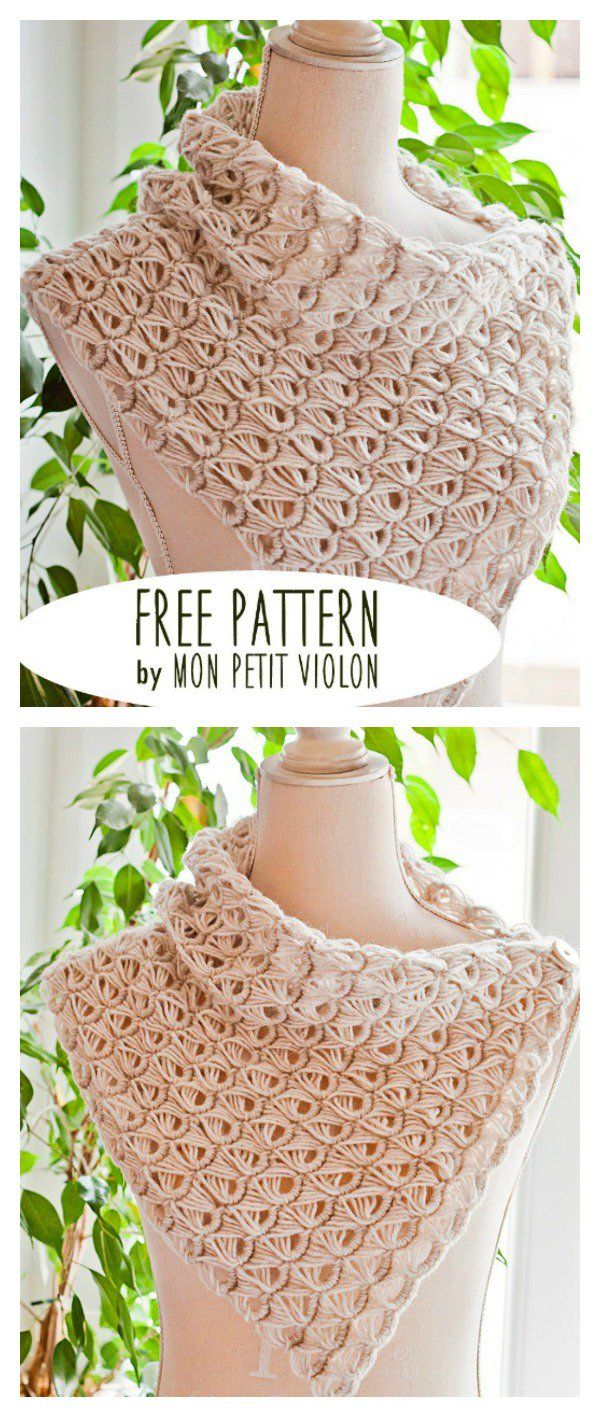 Free Broomstick Lace Cowl Crochet Pattern