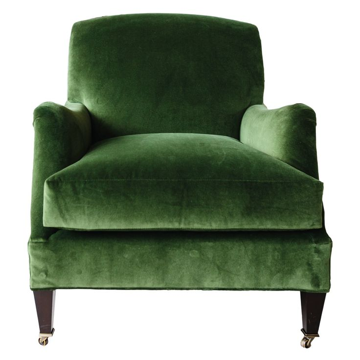 Moss Green Velvet Chair | Green velvet chair, Velvet chair ...