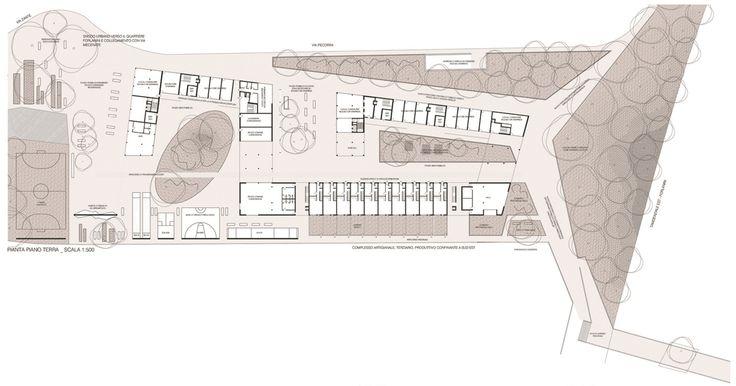 OPERASTUDIO - Competition - Social housing - #AAA architetti cercasi #Milan #Ground floor