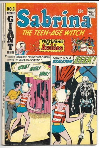 Sabrina-the-Teen-Age-Witch-3-1971-Archie-Comics-GD-RARE