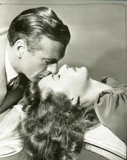 Barbara Stanwyck and Gary Cooper