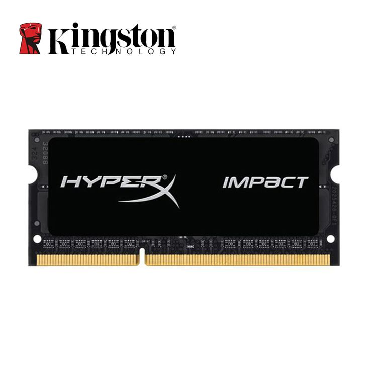 Kingston HyperX Impact  DDR3L Memoria RAM 4GB 8GB 1600MHz Ram SODIMM Intel Memory Ram Laptop Notebook 1.35V Low Power Memory