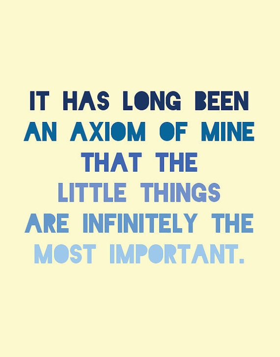 Sherlock Holmes Print  Arthur Conan Doyle Quote by LitPrints, $15.00