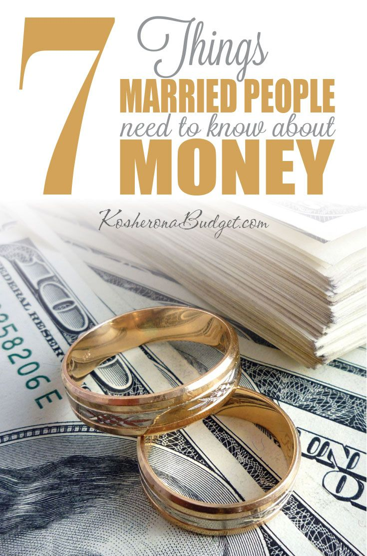 The 7 Things Married People Need to Know About Money