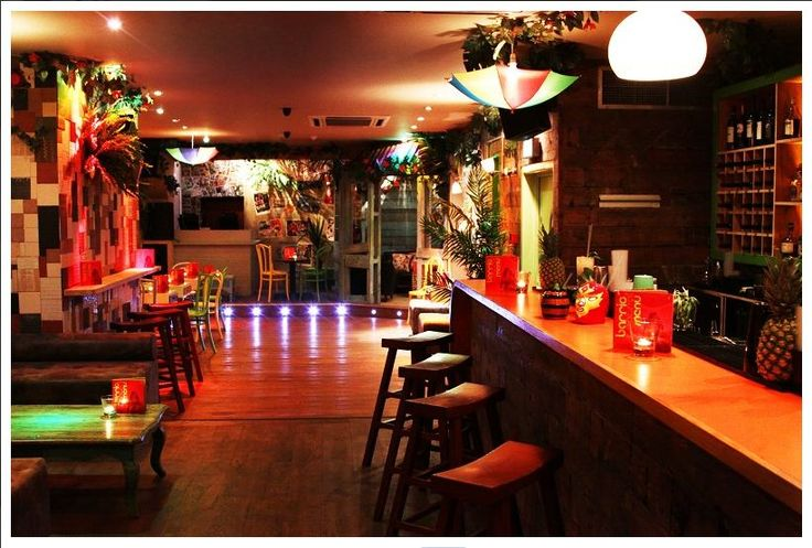 London soho barrio central latino vibe in funky decor for Funky house london