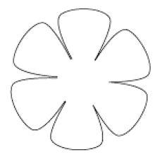 Resultado de imagen de patrones de rosas en cartulina