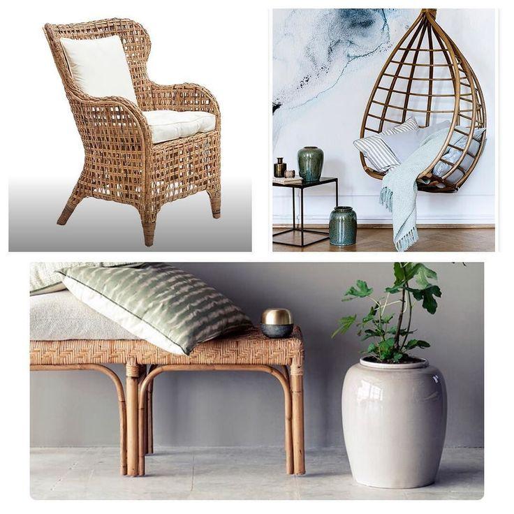 Rotting. Gör så mycket i en miljö och passar överallt - inne som ute. Perfekt att mjuka upp vår annars ganska avskalade nordiska inredning. Stor trend och vi älskart! Allt på bilden är påväg till oss och lite annat också. #rotting #utemöbler #rattan #inredning #inredningsinspiration #inredningsinspo #interiör #design #interior #vardagsrum #balkong #uteplats #fåtölj #trend #sommar #stockholm #furniture #möbler #rottingmöbler by soffcenter