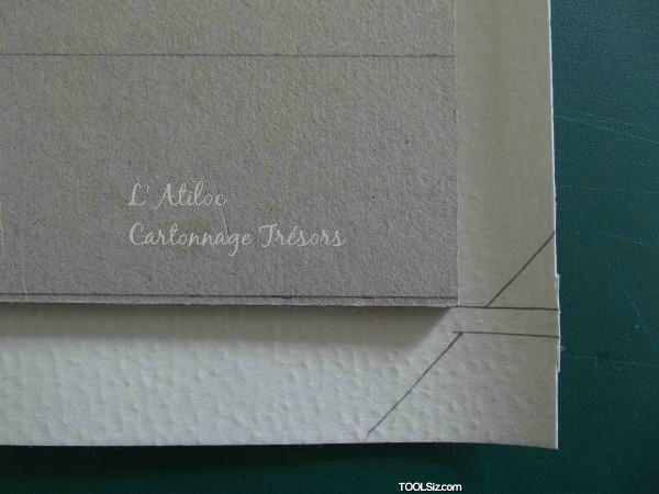 Angles sur carton épais 1