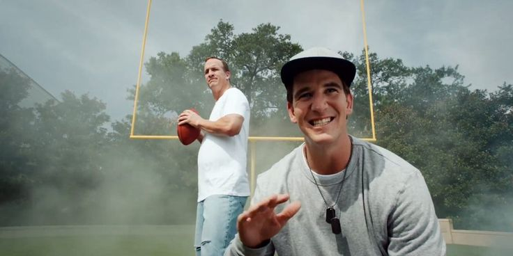 HAhahaha --- Peyton and Eli Manning's new rap video will get you ready for some football
