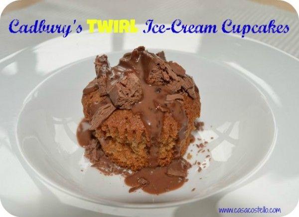 Cadbury's Twirl Ice-Cream Cupcakes – Bake of the week