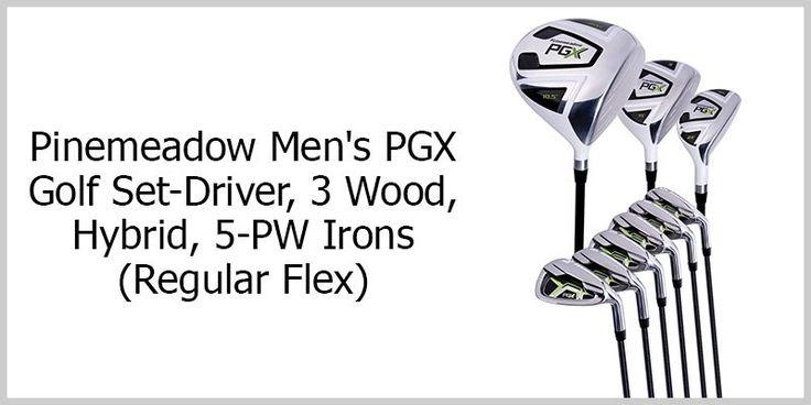 Pinemeadow Men's PGX Golf Set :http://www.bestgolfy.com/pinemeadow-mens-pgx-golf-set-review-2016/