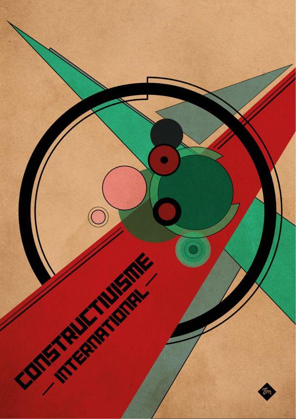 Constructivisme International by Fanny Marceau, via Behance
