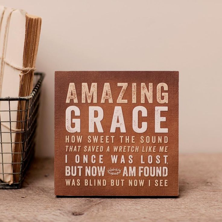 Amazing Grace: Wall Art.... Lifeway