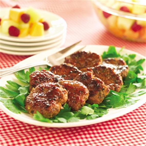 Apple Sausage Patties | Recipe | Sausages, Apples and Breakfast and ...