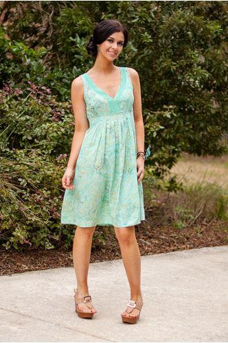Tea Brunch Dress | Knee length dress | Indonesia | shopgofish.com