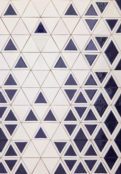 From David Pompa Alarcón's Mexico/Austria-based studio, Triango tiles manufactured by Uriarte Talavera. Very cool, very simple and useable.