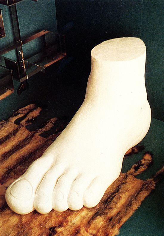 Gaetano Pesce, Soft Foot, For Gufram, 1970   Pop Art Design   Pinterest    Soft Feet And Pop Art Design