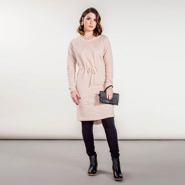 PEPPI mekko taskuilla, musta-vanilja | NOSH verkkokauppa