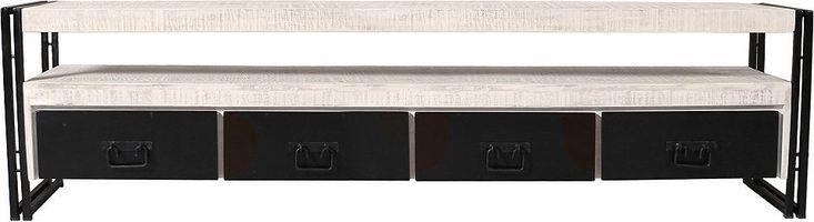 SIT TV-Lowboard »White Panama« im Used Look, Breite 200 cm Jetzt bestellen unter: https://moebel.ladendirekt.de/wohnzimmer/tv-hifi-moebel/tv-lowboards/?uid=001a520e-160b-57da-977a-df068e70b65c&utm_source=pinterest&utm_medium=pin&utm_campaign=boards #tvlowboards #wohnzimmer #tvhifimoebel #tvmöbel Bild Quelle: baur.de