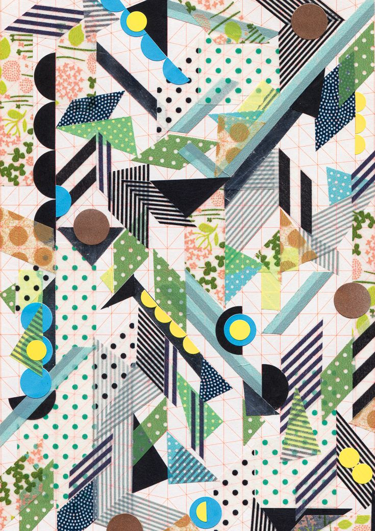 Pattern by Anna Niestoj for Lunch Lady. Lunch Lady Magazine available at http://shop.hellolunchlady.com.au/