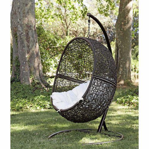 17 meilleures id es propos de fauteuil de jardin suspendu sur pinterest fauteuil suspendu. Black Bedroom Furniture Sets. Home Design Ideas