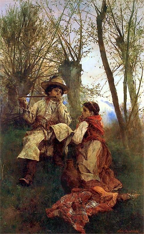 Sielanka > nazywana też idyllą, to utwór tematycznie związany z życiem pasterzy, rolników, rybaków lub myśliwych. Ma postać lirycznego monologu połączonego z opisem lub dialogiem. Najczęstsze motywy sielanki to praca, miłość oraz codzienne problemy, rozgrywające się na tle pięknej, przyjaznej człowiekowi przyrody.
